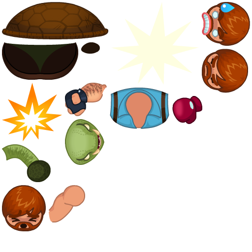 Muster my Mosters characters spritesheet