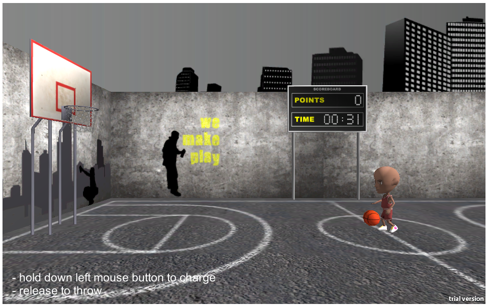 Unity Demo Basketball