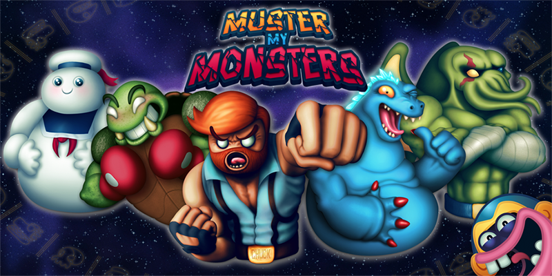 Muster my Monsters now available on the App Store!
